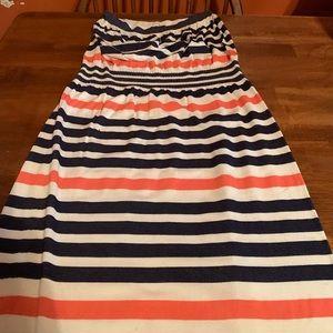 DONATED STRAPLESS DRESS